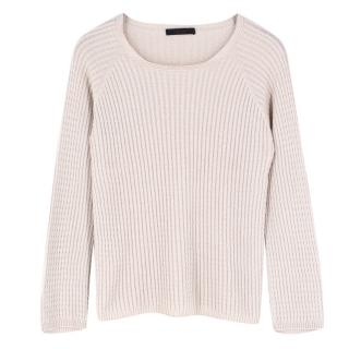The Row Wool Ribbed Sweater