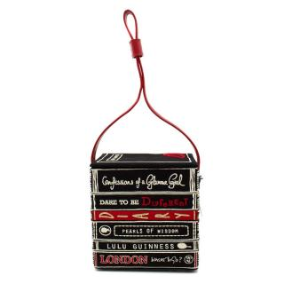 Lulu Guinness Bag of Books Box Shoulder Bag
