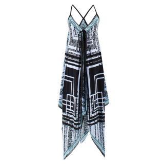 Charlotte Sparre Printed Silk Dress
