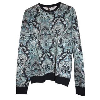 Just Cavalli Men's Printed Sweatshirt