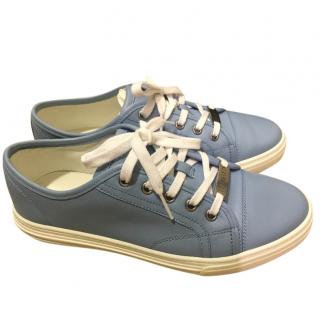 Gucci Mineral Blue Low Top Sneakers