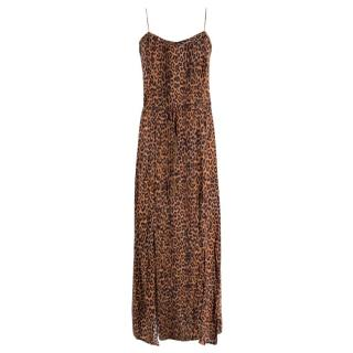 ViX Paula Hermanny Leopard Print Dress