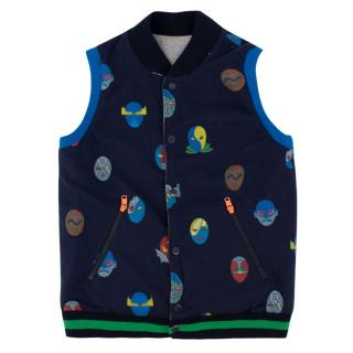 Stella McCartney Boy's Reversible Superhero Gilet