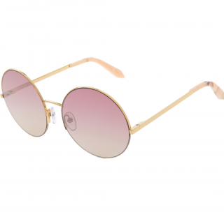 Victoria Beckham Supra Round Rose Gradient Sunglasses