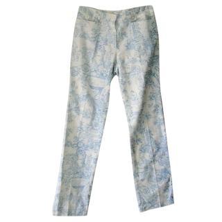 Vanessa Bruno China Print Trousers