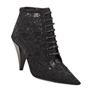 Saint Laurent Era Lace booties