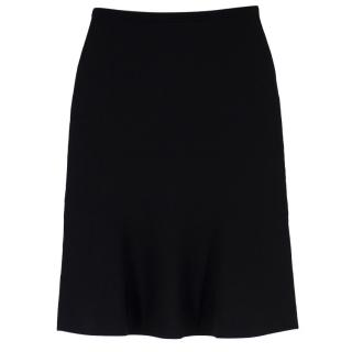 Diane Von Furstenberg High-Waisted A-Line Knit Skirt