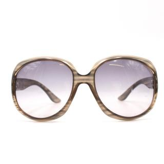 Christian Dior Grey Square Sunglasses