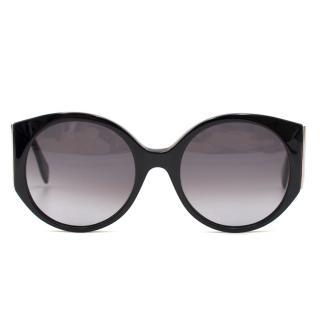 Alexander McQueen Black AMQ 4285/S Sunglasses
