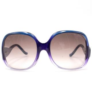 Balenciaga Purple Sunglasses