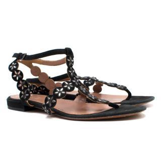 Alaia Flat Sandals