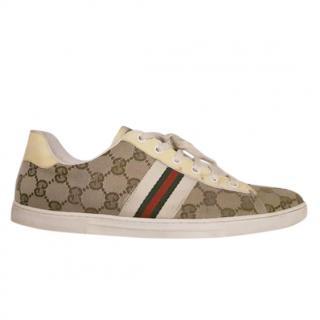 Gucci Guccissima Canvas Sneakers