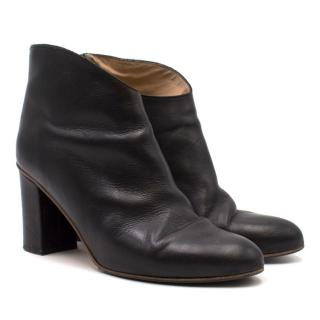 ATP Atelier Farah Leather Heeled Ankle Boots