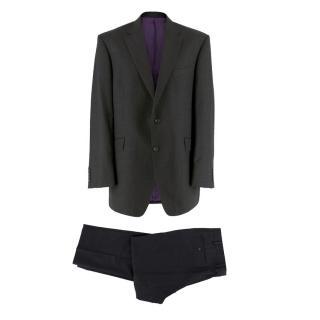 Sartorial Grey Wool Suit