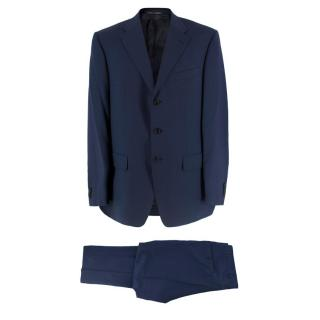Corneliani Navy Blue Wool Suit