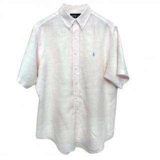 Ralph Lauren Men's Linen Shirt