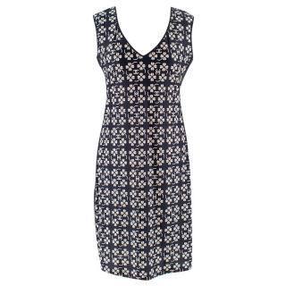 Chanel Floral Print Sleeveless Mini Dress