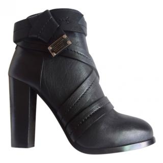 Marc by Marc Jacobs black leather boots