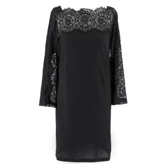 Stella McCartney Black Lace Mini Dress