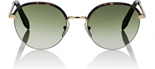 Victoria Beckham Windsor Tortoishell-Gold Sunglasses