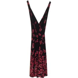 Temperley London Lavinia fern print dress