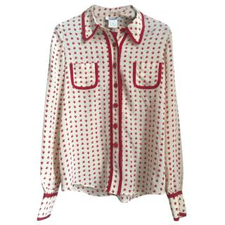 Sonia Sonia Rykiel Heart Print Shirt