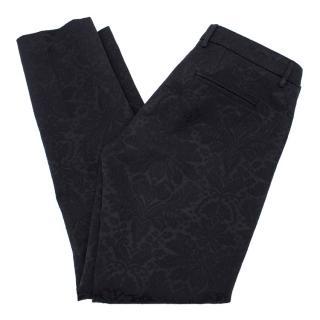 True Royal Navy Paisley Trousers
