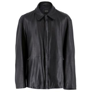 Boss Hugo Boss Black Leather Jacket