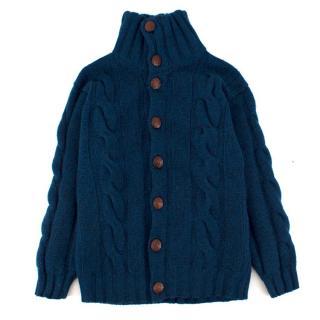 Harrods Boy's Knit Cashmere Cardigan
