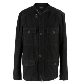 SA(Mark Linsey) DKNY Black Suede Jacket