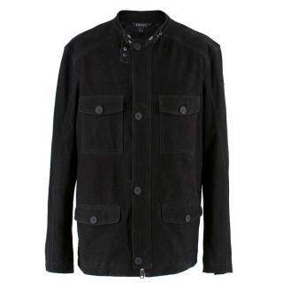 DKNY Black Suede Jacket
