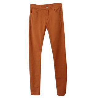 Maison Martin Margiela orange jeans