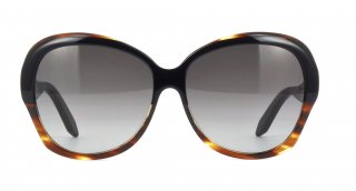 Victoria Beckham Happy Butterfly Black Tortoise Gradient Sunglasses