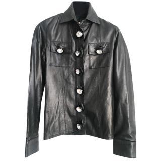 Christopher Kane soft leather jacket