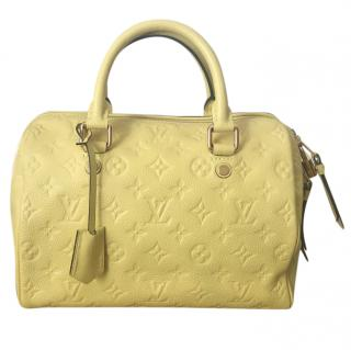 9e541c987e6a A rare stunning find in exotic color Louis Vuitton Speedy bandouliere 25  Empreinte Bag