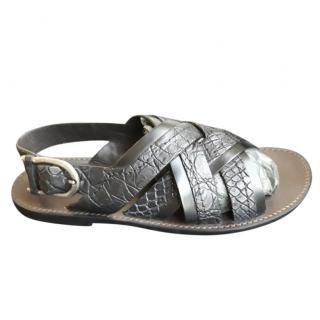 Dolce & Gabbana caiman sandals