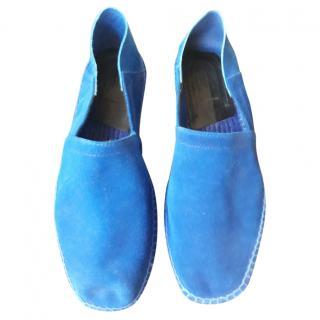 Tom Ford Men's Blue Espadrilles