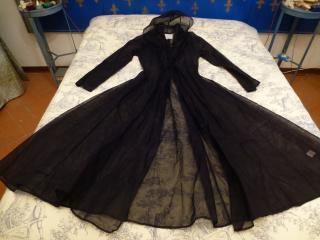 Paris -Beth Neilson Elegant organza full length coat