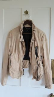Muubaa nude biker jacket