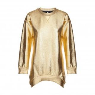 Faith Connexion Gold Jumper Dress new
