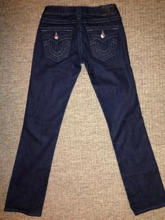 True Religion Jeans made with crystallised Swarovski elements