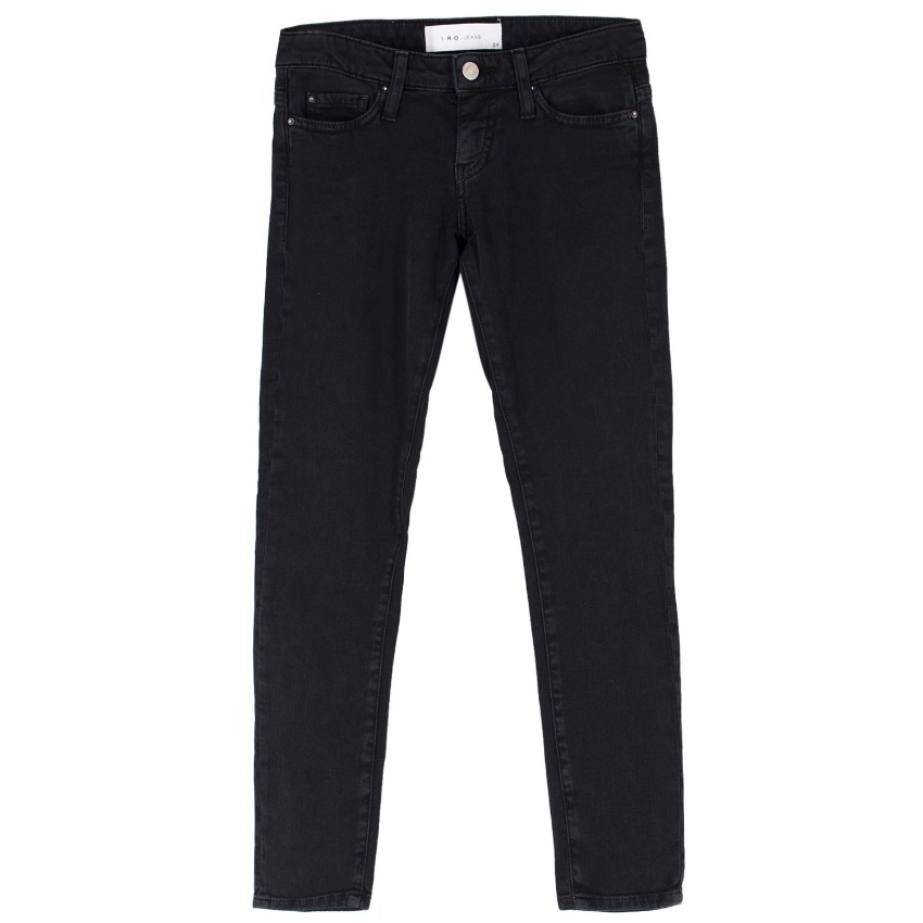 IRO Black Washed Alyson Jeans