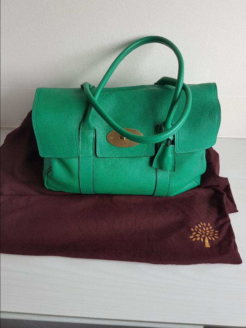 6afd3d45ac Mulberry Emerald Green Bayswater Tote Bag. 20. 12345678910