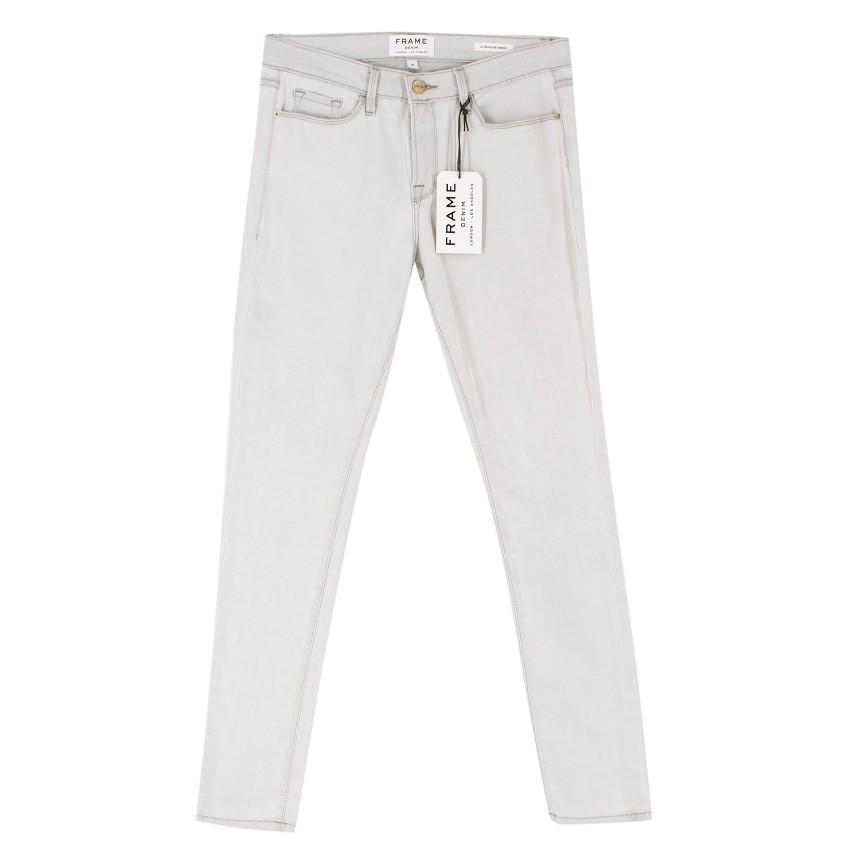 Frame Le Skinny De Jeanne Pale Jeans