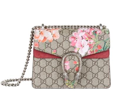 bc44bc1c1e6 Gucci Mini Gg Blooms Dionysus Shoulder Bag