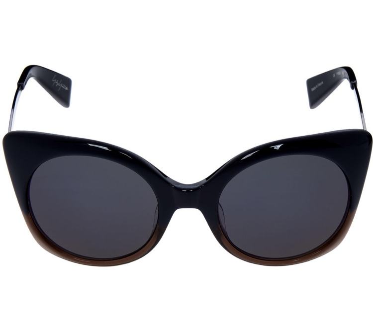 Yohji Yamamoto Navy Fade Cat Eye Sunglasses