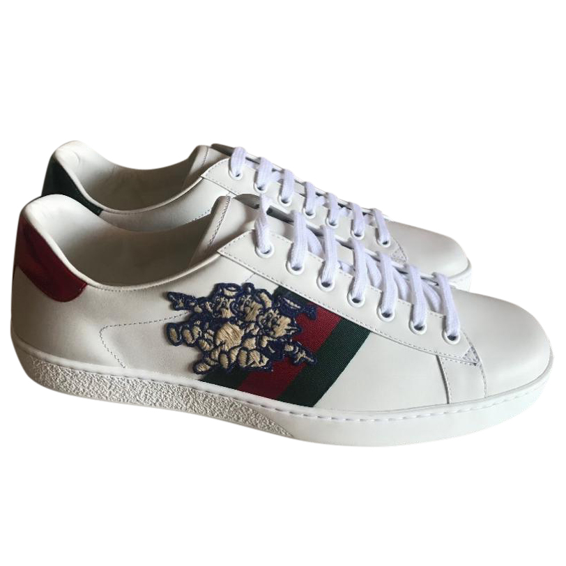 52667b3f5e11 Gucci 3 Little Pigs Ace Sneakers   HEWI London