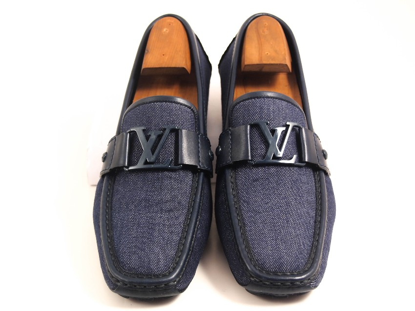 d8346aa4b948 Louis Vuitton Monte Carlo Denim Loafers