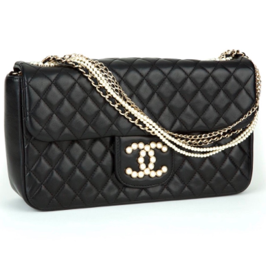 fc2ca1568713b7 Chanel Westminster Quilted Lambskin Medium Pearl Chain Flap Bag | HEWI  London