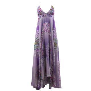 Matthew Williamson Printed Silk Maxi Dress